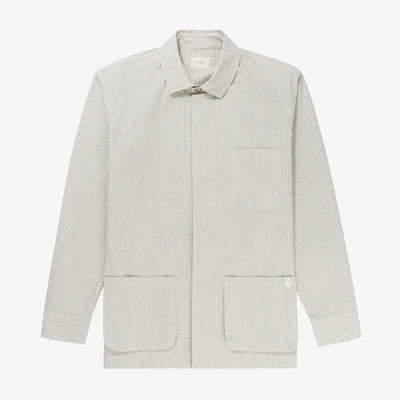 COTTON POPLIN PAINTERS JACKET