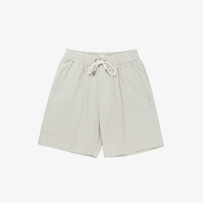COTTON POPLIN LEISURE SHORTS