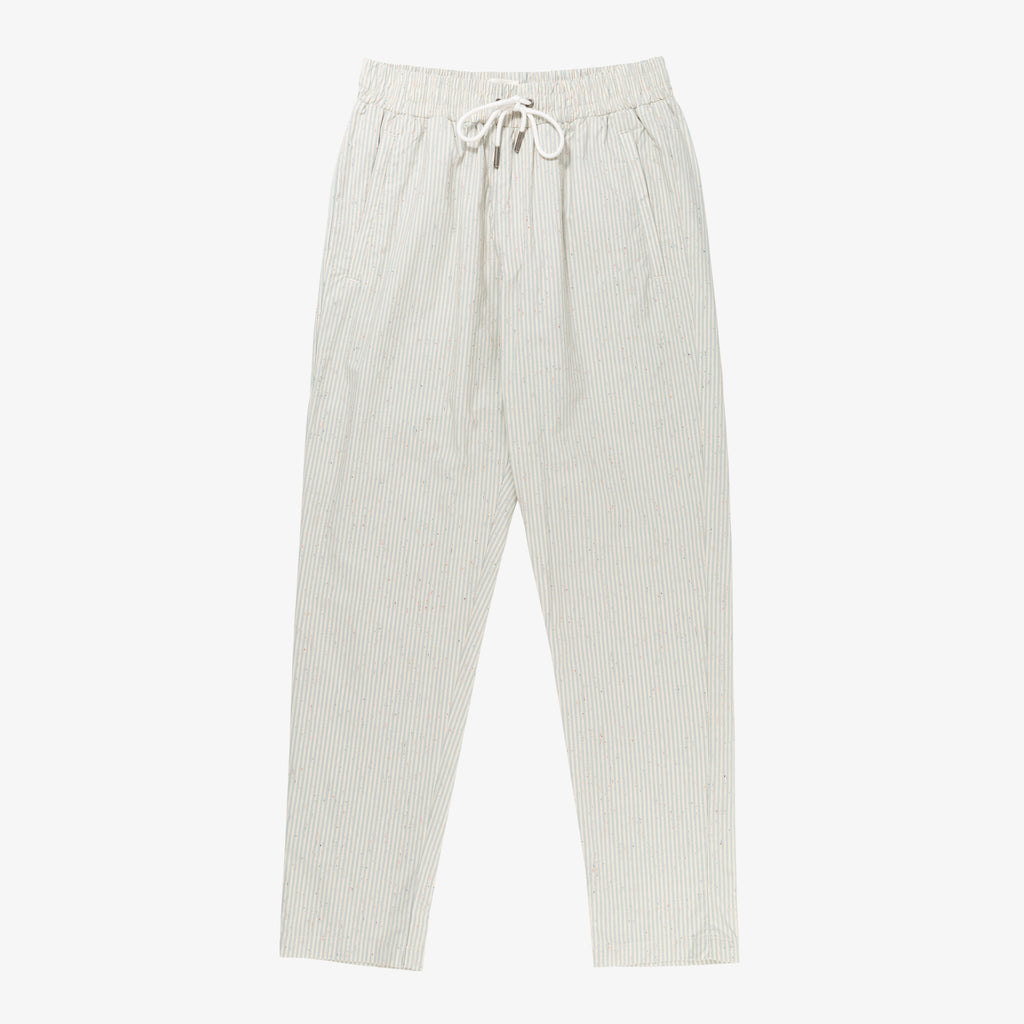 COTTON POPLIN LEISURE PANT
