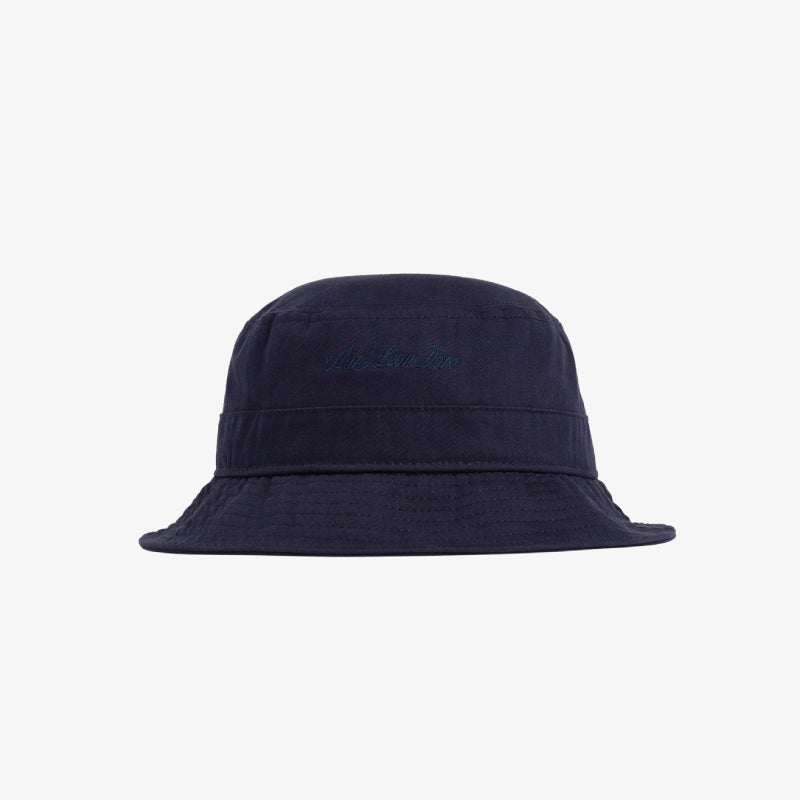 COTTON-TWILL BUCKET HAT