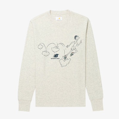 ALD / New Balance LS Graphic Runners Tee
