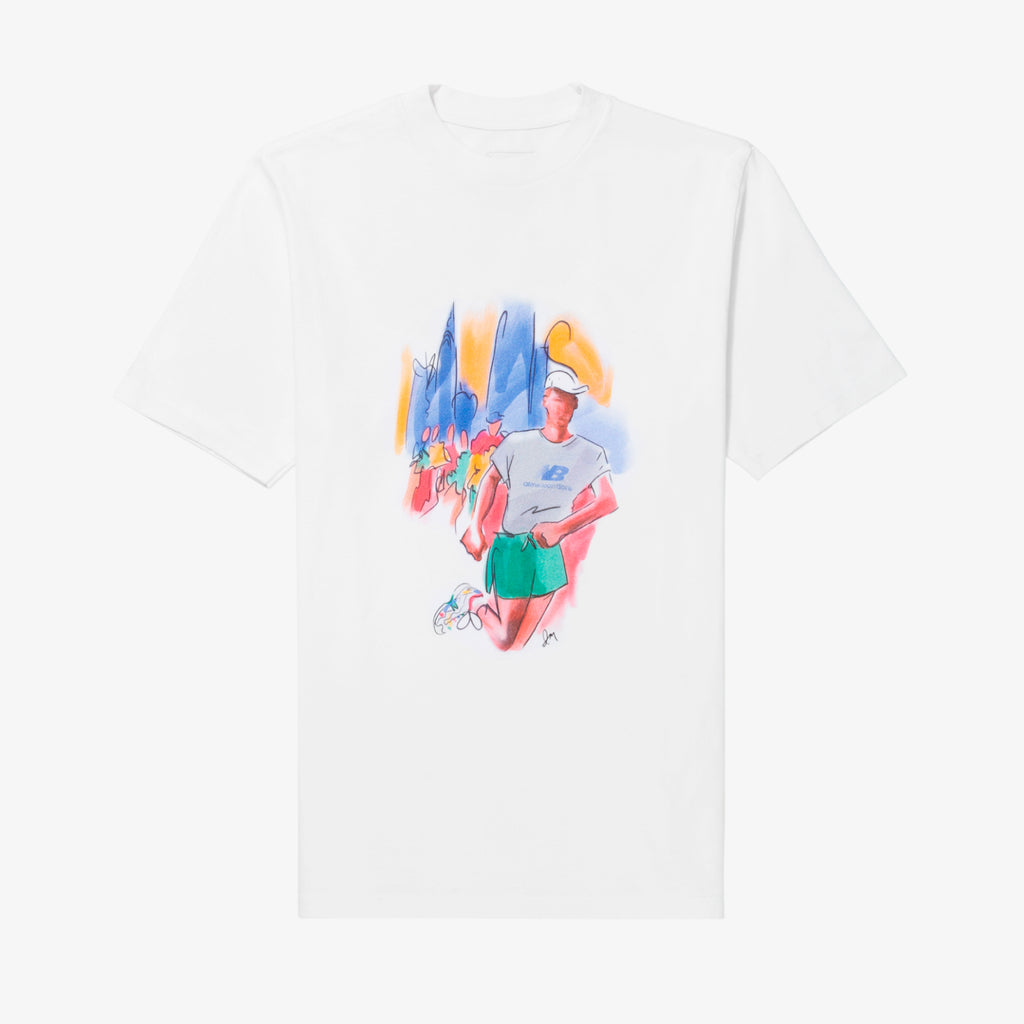 ALD / New Balance Runners Graphic Tee