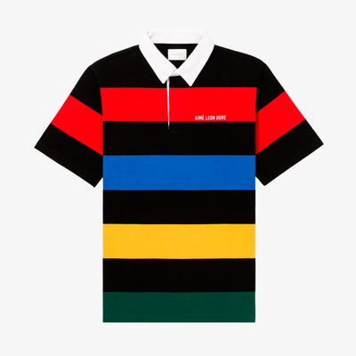 SS MULTI STRIPE RUGBY