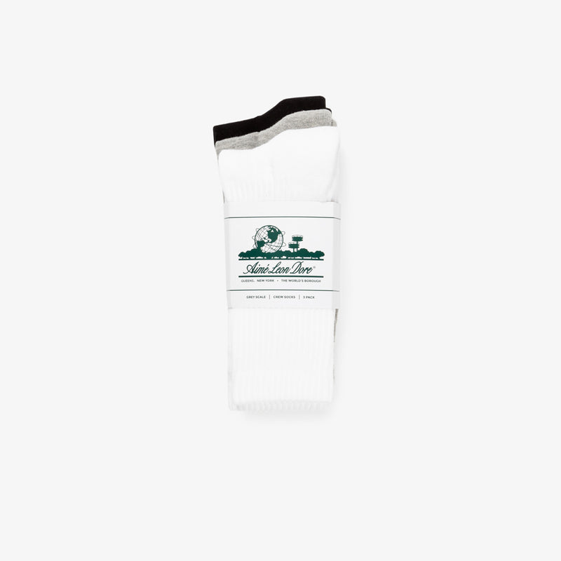 ALD Packaged Crew Socks