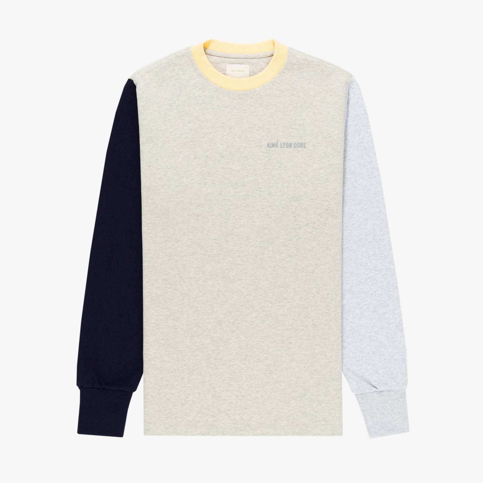 Colorblock Long-sleeve Tee