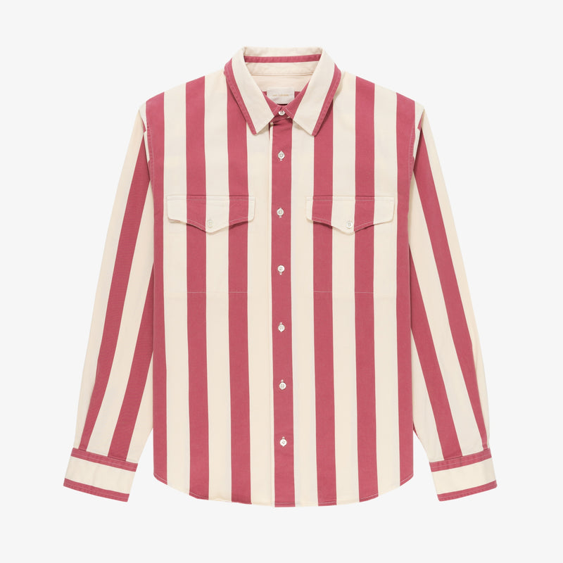 Striped Overshirt