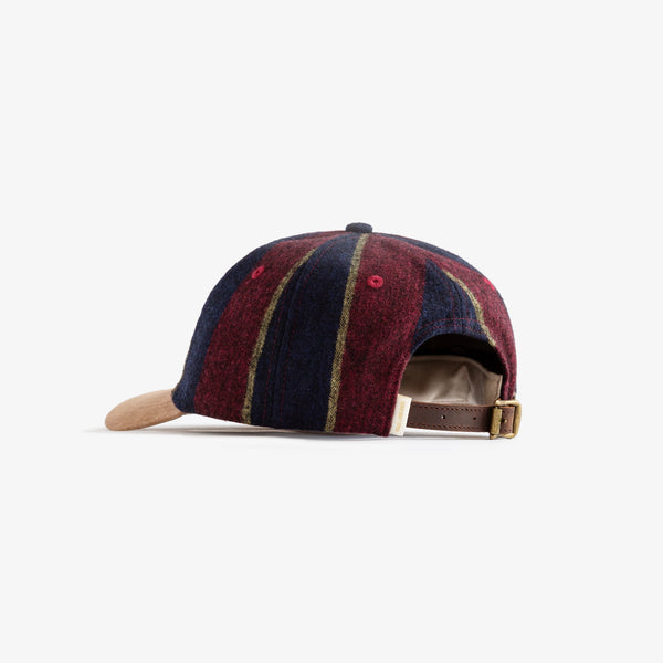 WOOL STRIPED 5-PANEL