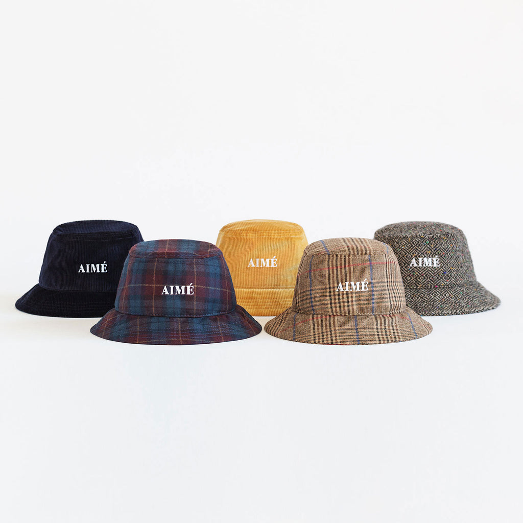 DONEGAL TWEED BUCKET HAT - Hats Aimé Leon Dore