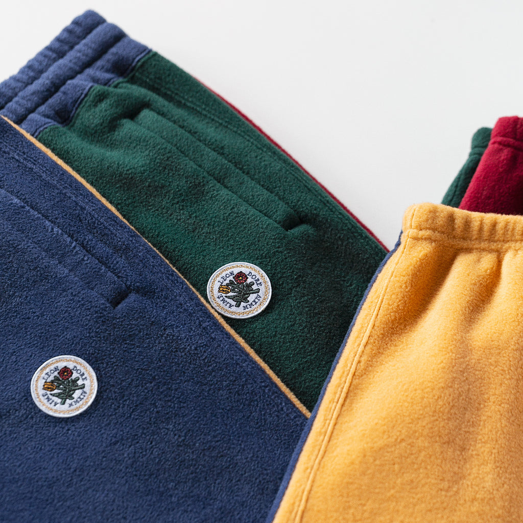 POLAR FLEECE SWEAT PANT-YELLOW - Sweatpants Aimé Leon Dore