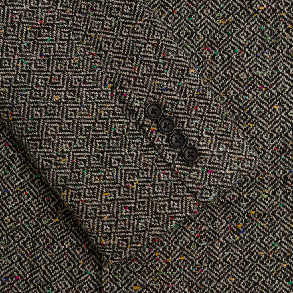 DONEGAL TWEED TOP COAT-GREY - Outerwear Aimé Leon Dore