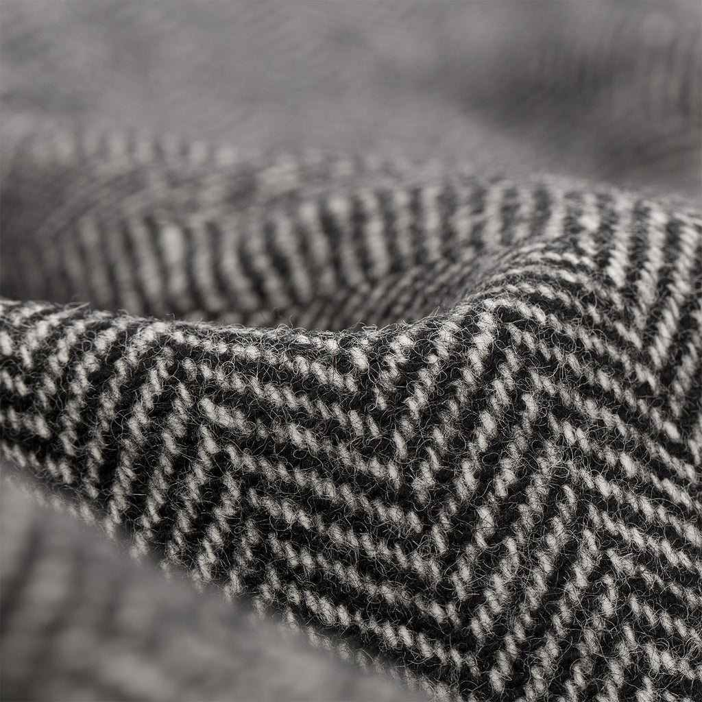 Thermal-Lined Top Coat - Herringbone
