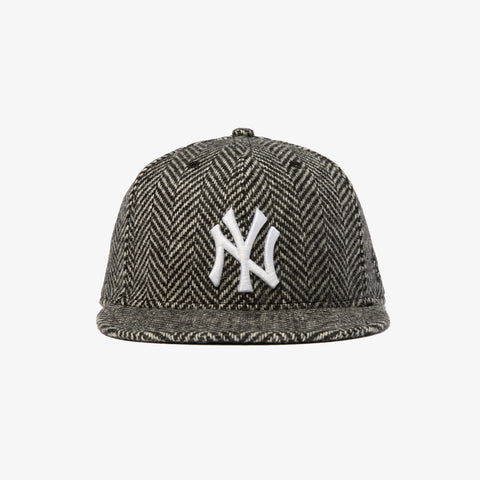 59FIFTY YANKEE CAP- HERRINGBONE
