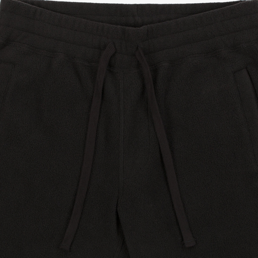 Polar Fleece Camper Pant - Black - Bottoms Aimé Leon Dore