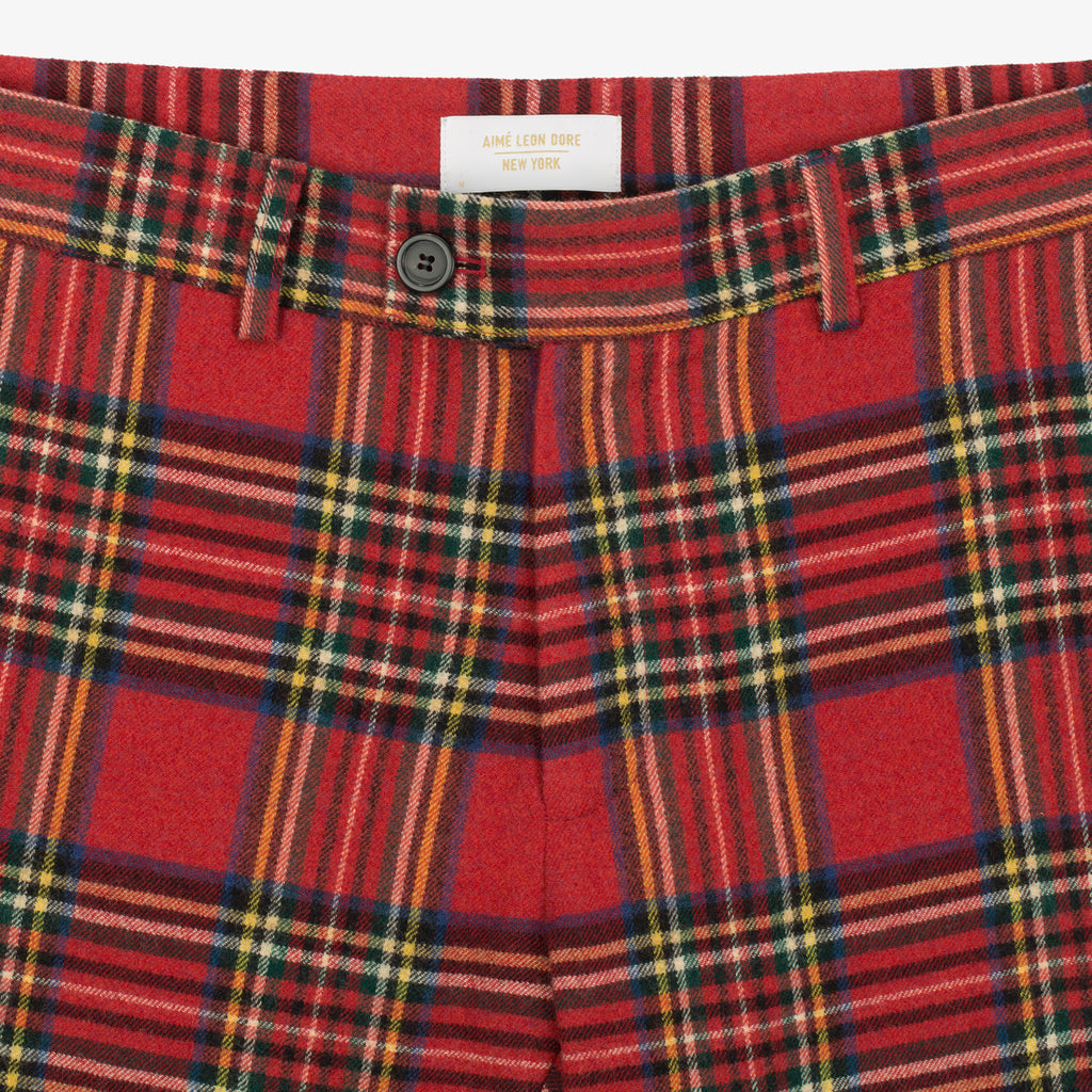 Tartan Trouser - Royal Stewart - Bottoms Aimé Leon Dore