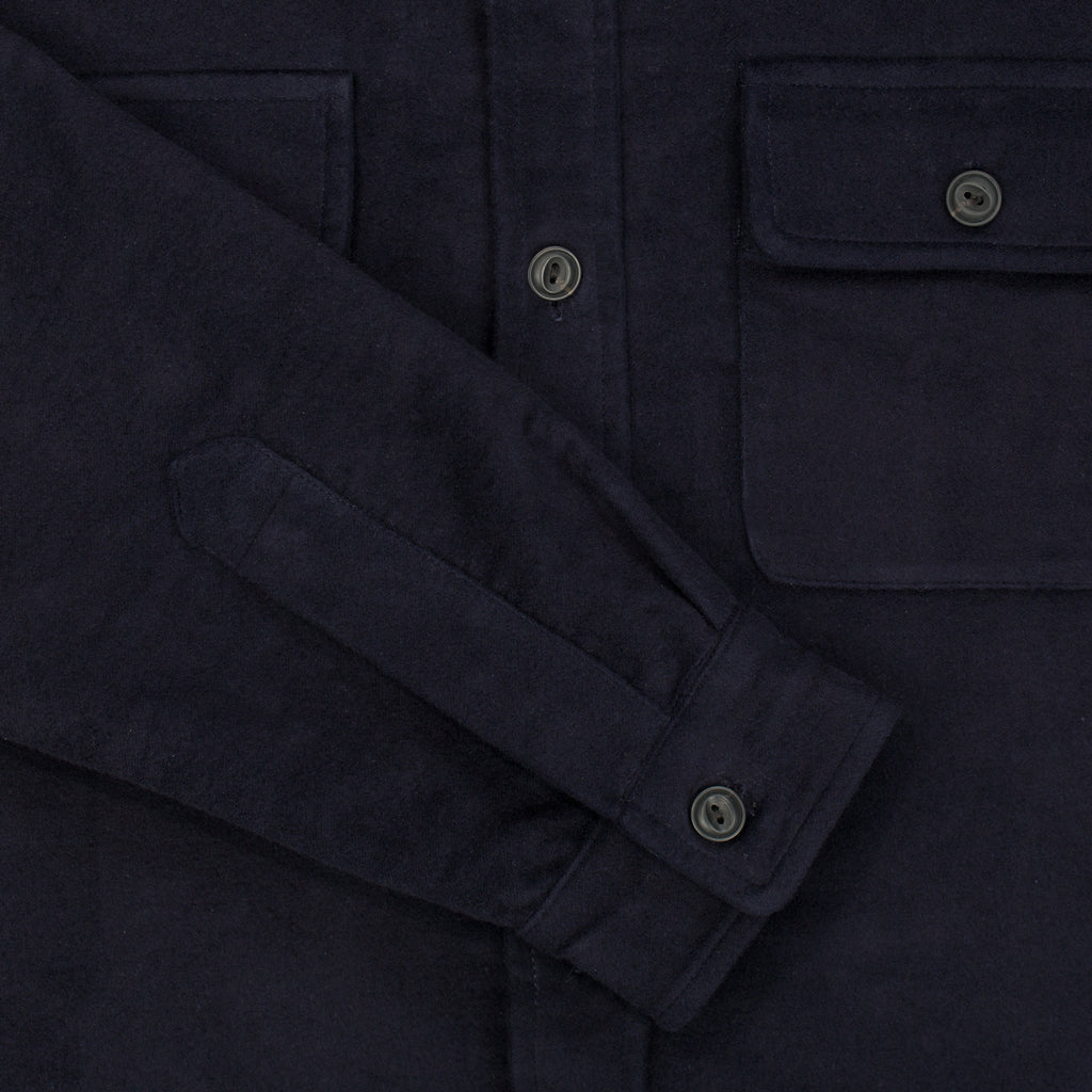 Moleskin CPO Over-shirt - Dark Navy