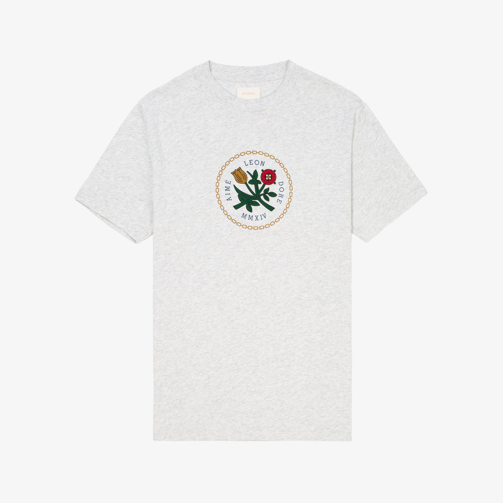 SS HOME CREST TEE-GREY