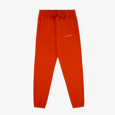LOGO SWEAT PANT-RUST - Sweatpants Aimé Leon Dore