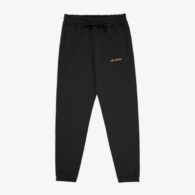 LOGO SWEAT PANT-BLACK - Sweatpants Aimé Leon Dore