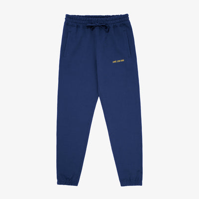 LOGO SWEAT PANT-NAVY - Sweatpants Aimé Leon Dore