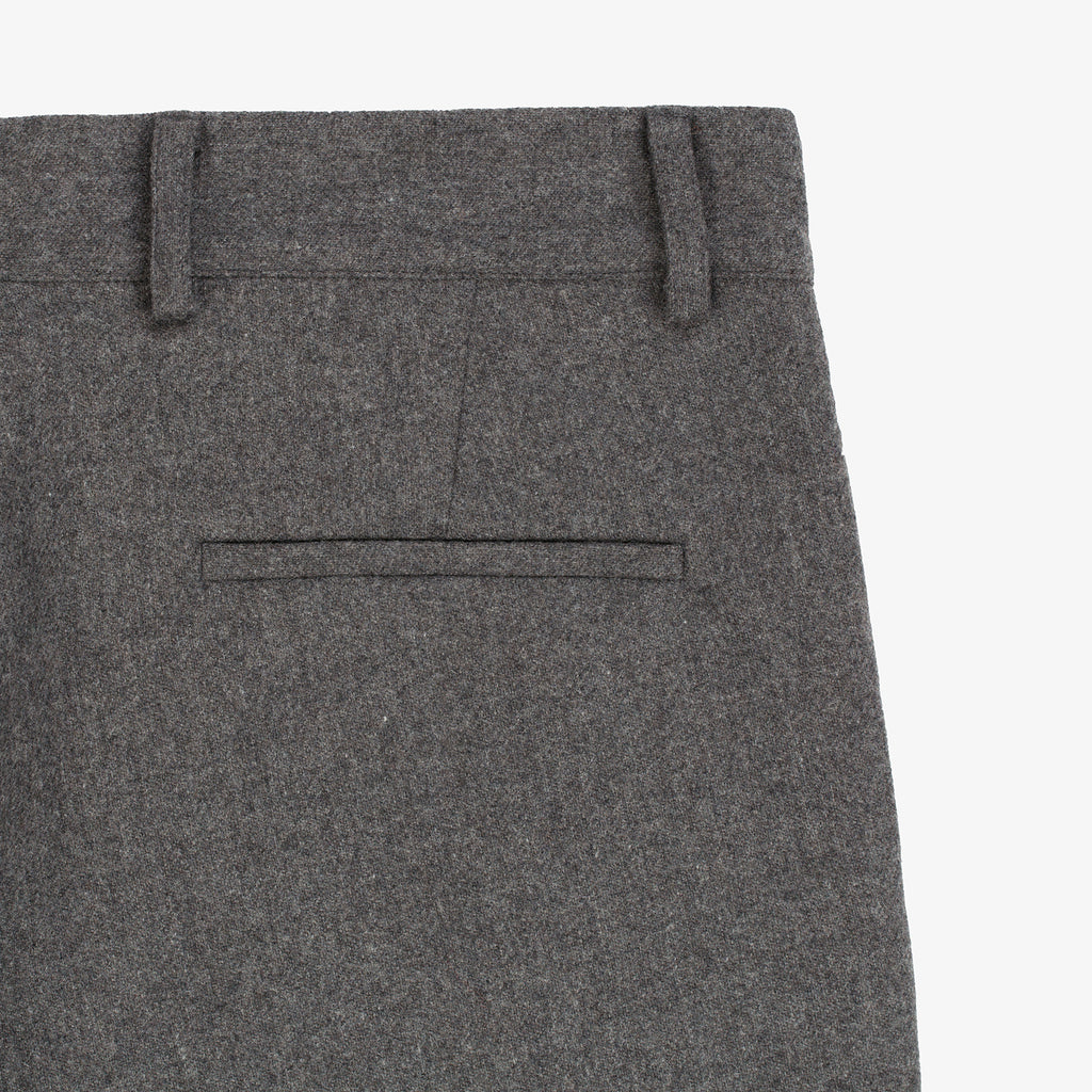 Merino Cashmere Trouser - Light Grey - Bottoms Aimé Leon Dore