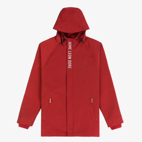 Logo Parka - Red