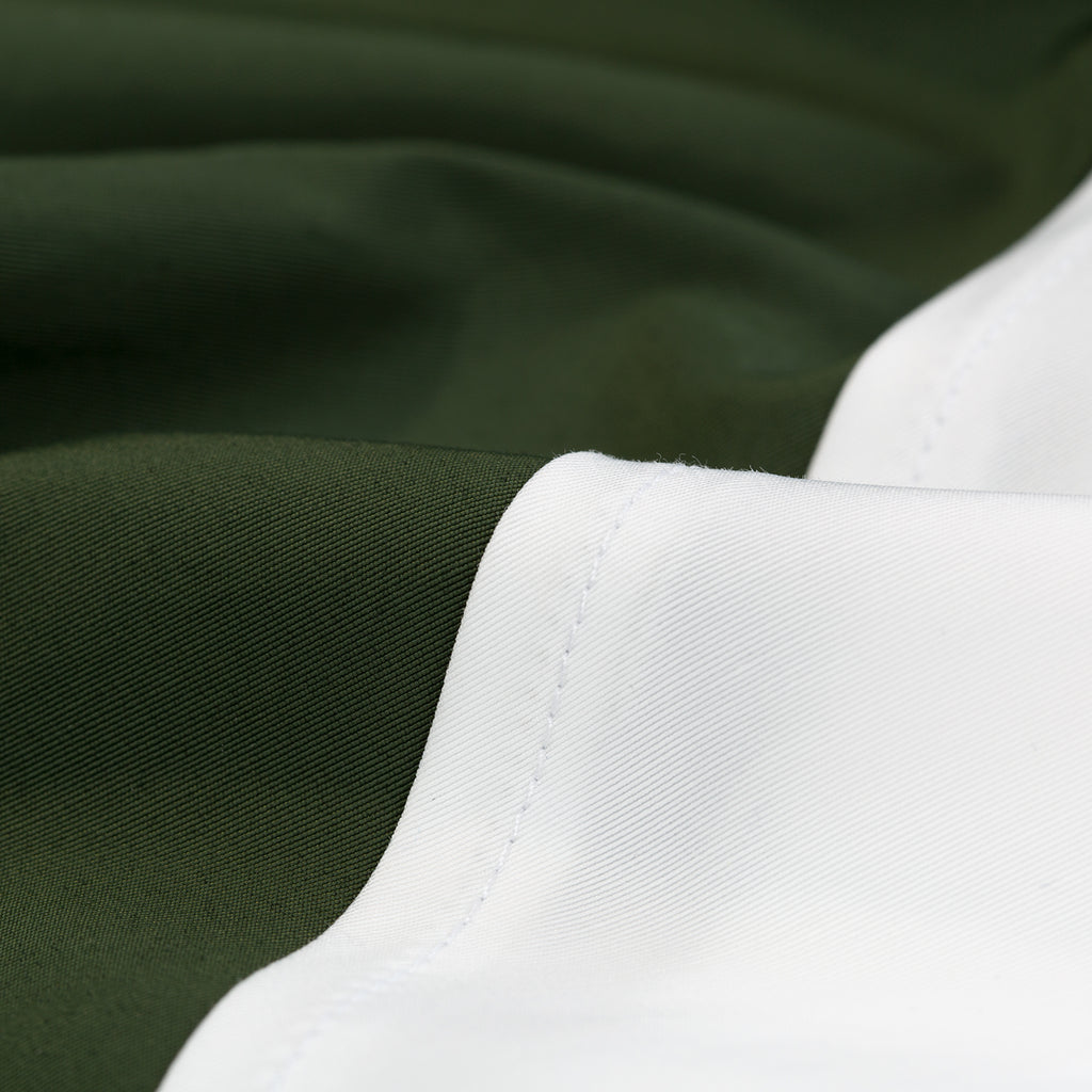 Water-Repellent Pull Over - Olive/White - Outerwear Aimé Leon Dore