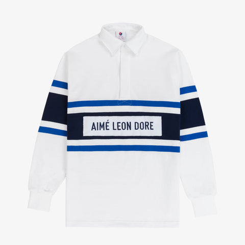 Rugby Shirt - White/Royal
