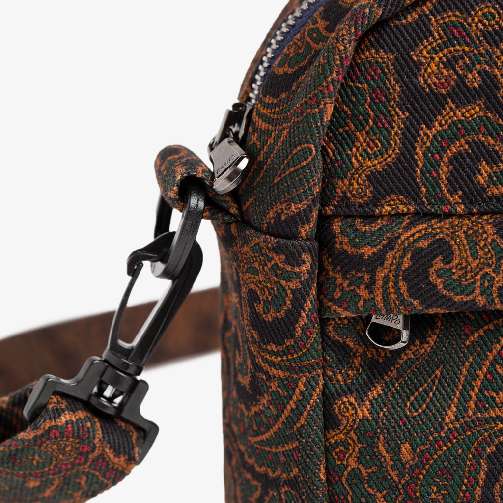 PAISLEY DENIM SHOULDER BAG - NAVY - Bags Aimé Leon Dore