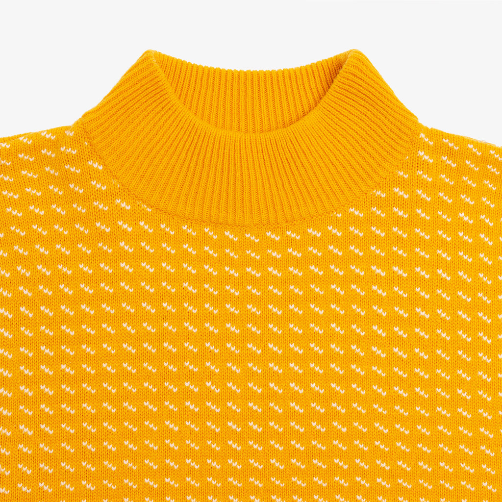 ... BIRDSEYE KNIT SWEATER-YELLOW - Sweaters Aimé Leon Dore ... fc3b8b4fa