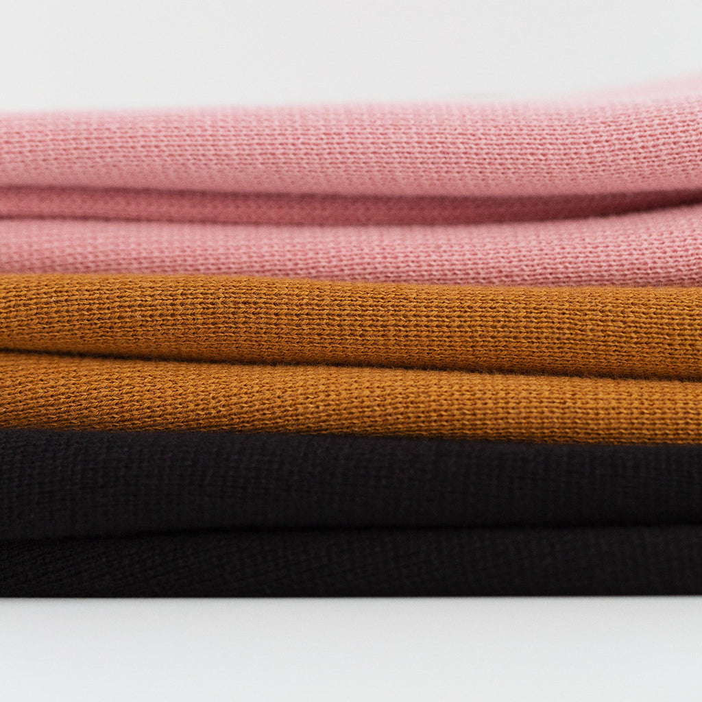 SWEATER KNIT POLO - PINK