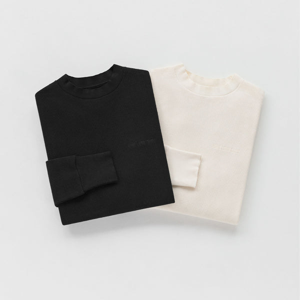 DISTRESSED WAFFLE THERMAL - Tees Aimé Leon Dore
