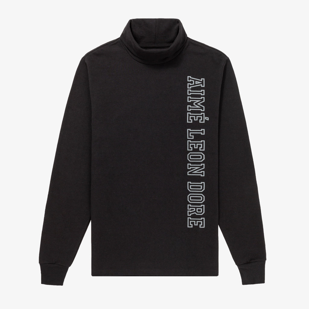 LETTERMAN TURTLENECK - BLACK