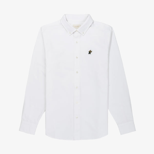 A-WING OXFORD - WHITE - Woven Shirts Aimé Leon Dore