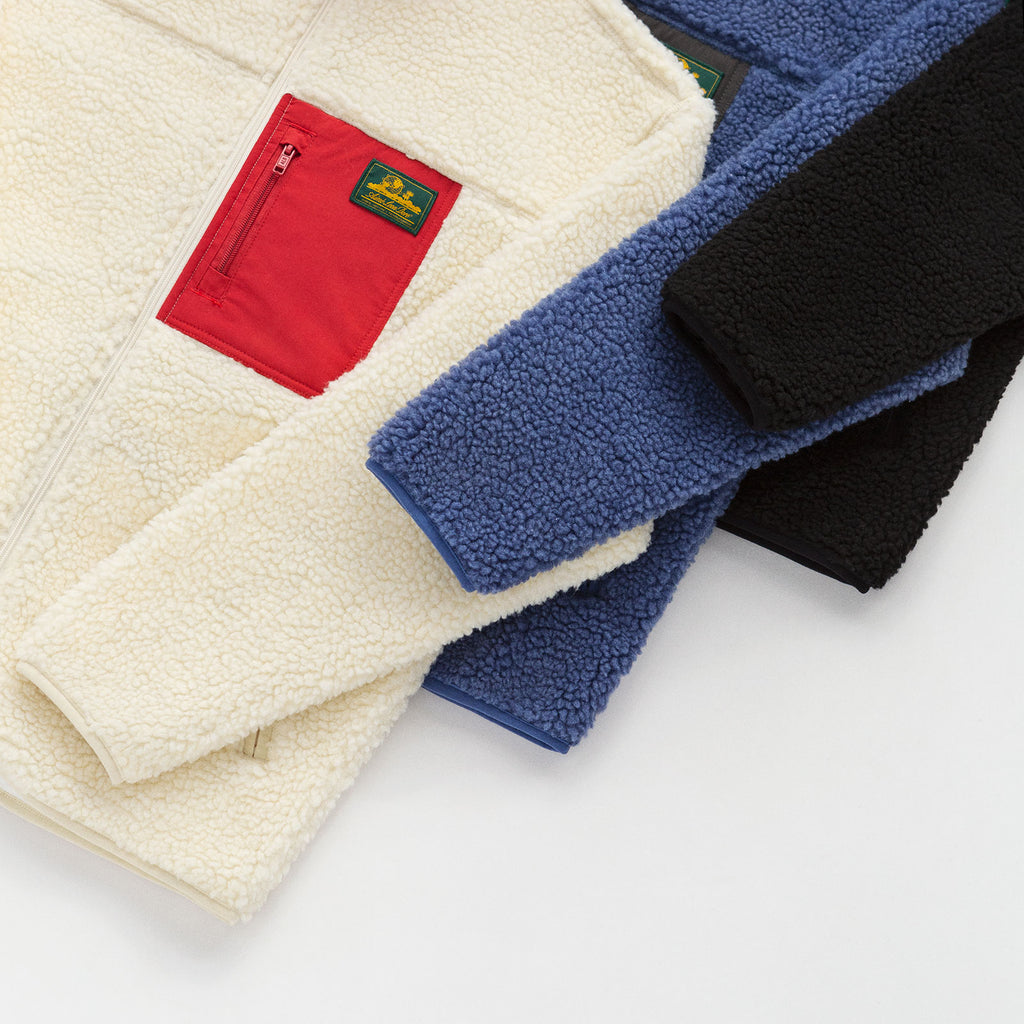 FULL-ZIP POLAR FLEECE