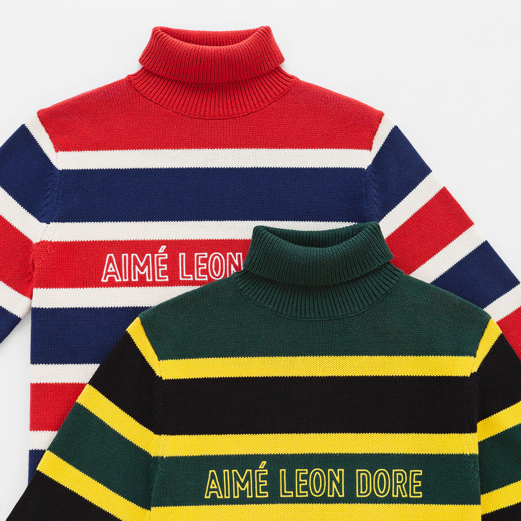 LOGO KNIT TURTLENECK