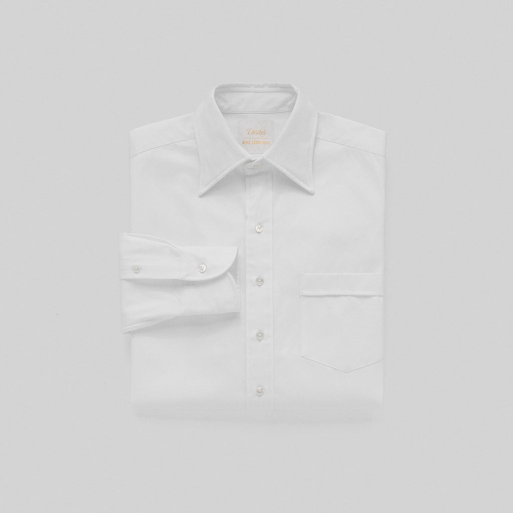 LONG-POINT OXFORD SHIRT