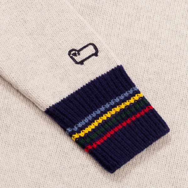 HUDSON BAY SWEATER - GREY MIX