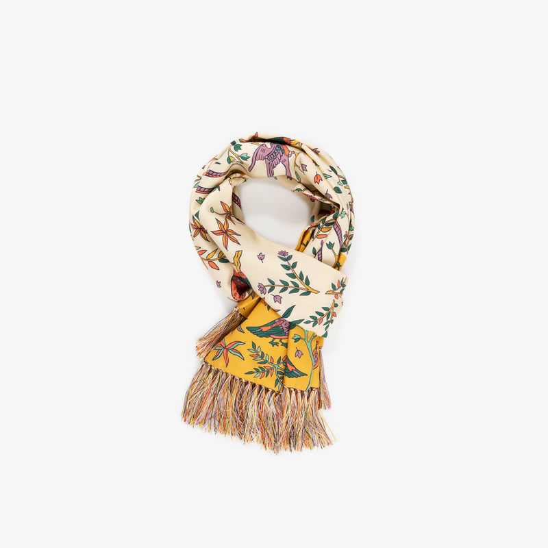 Bird Printed Scarf
