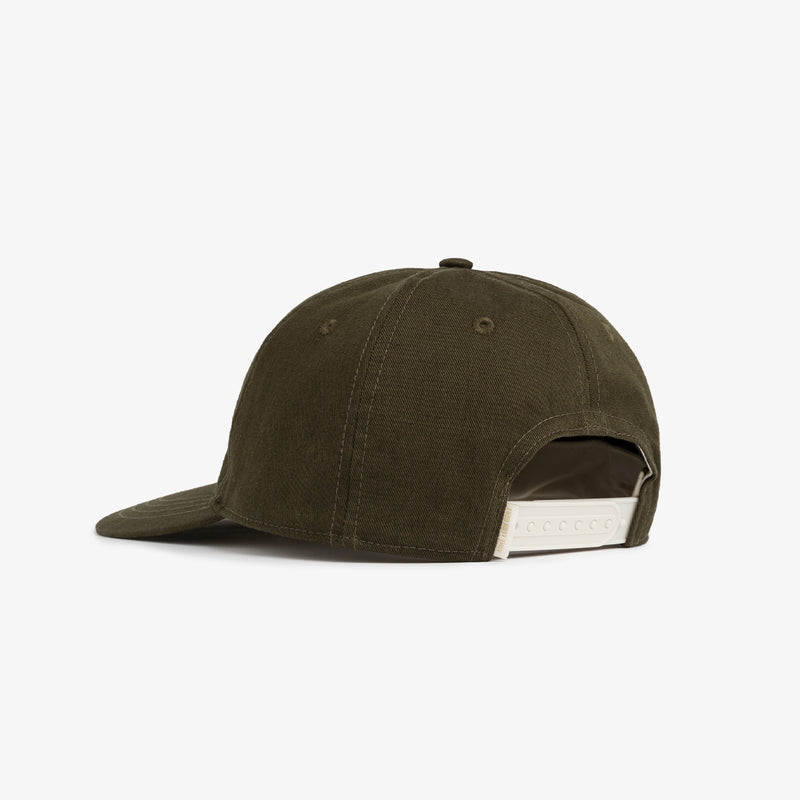 Olive Oxford Cap