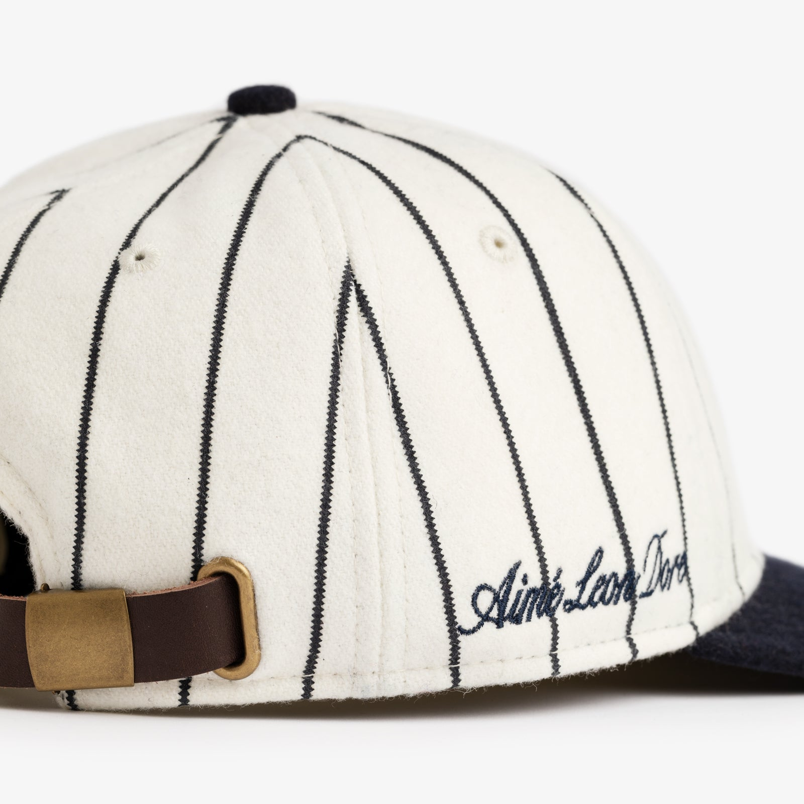 ALD / New Era Wool Pinstripe Yankee Hat