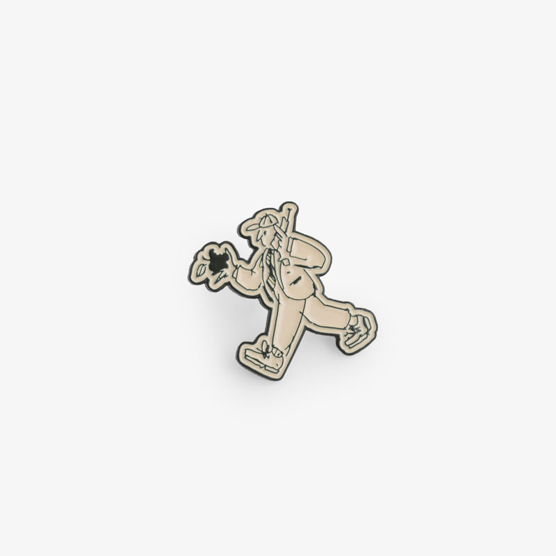 ALD / Drake's Apple Pin