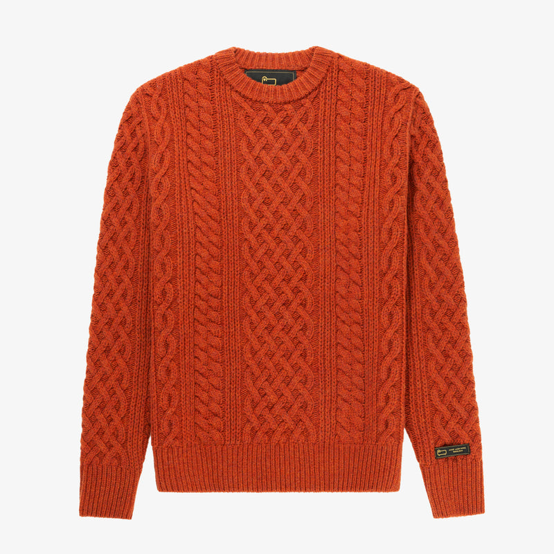 ALD / Woolrich Cable Crewneck Sweater