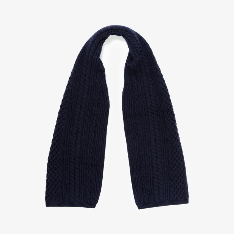ALD / Woolrich Cable Scarf