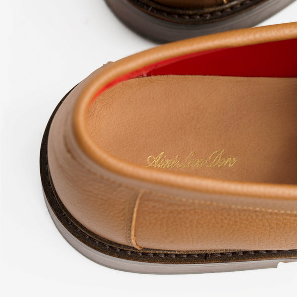 ALD PENNY LOAFERS - TAN - Shoes Aimé Leon Dore