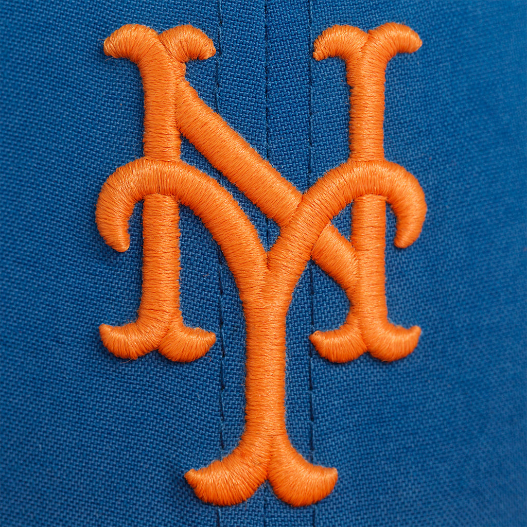NEW YORK METS NYLON FITTED - BLUE/ORANGE - Accessories Aimé Leon Dore