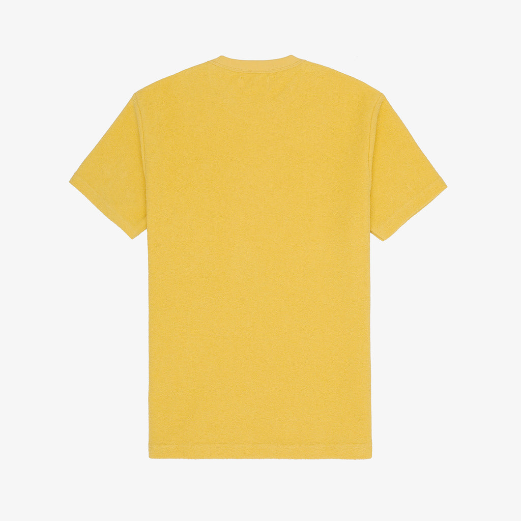 REVERSE TERRY POCKET TEE