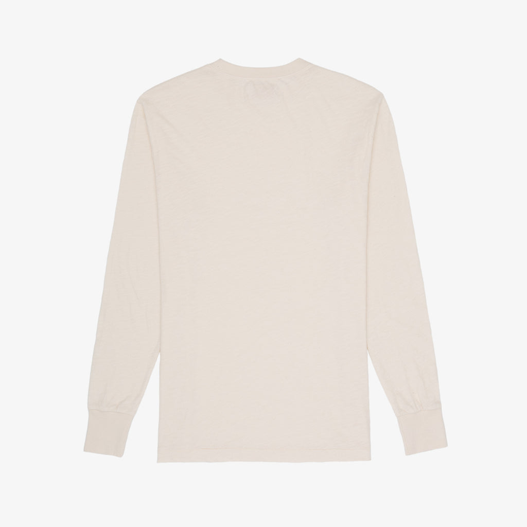 LS SLUB POCKET TEE