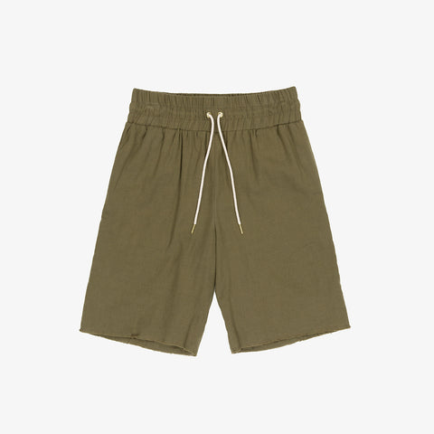 COTTON BASKETBALL SHORTS