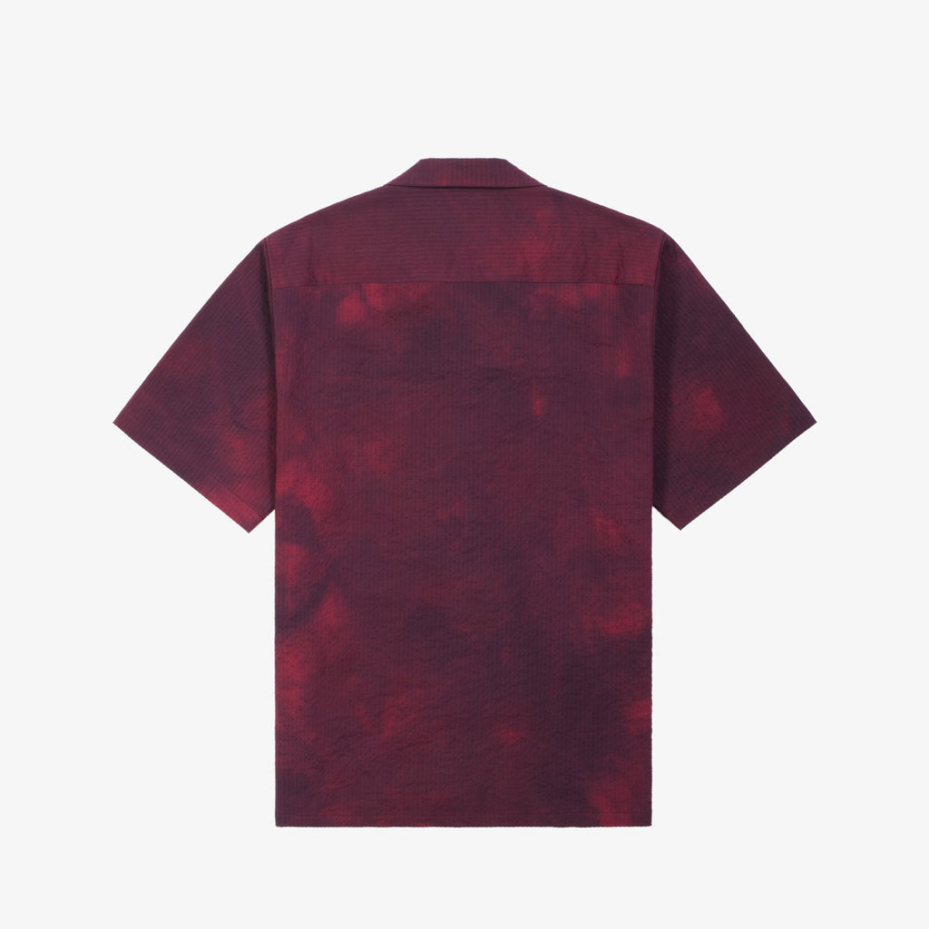 SS LEISURE SHIRT - MAROON