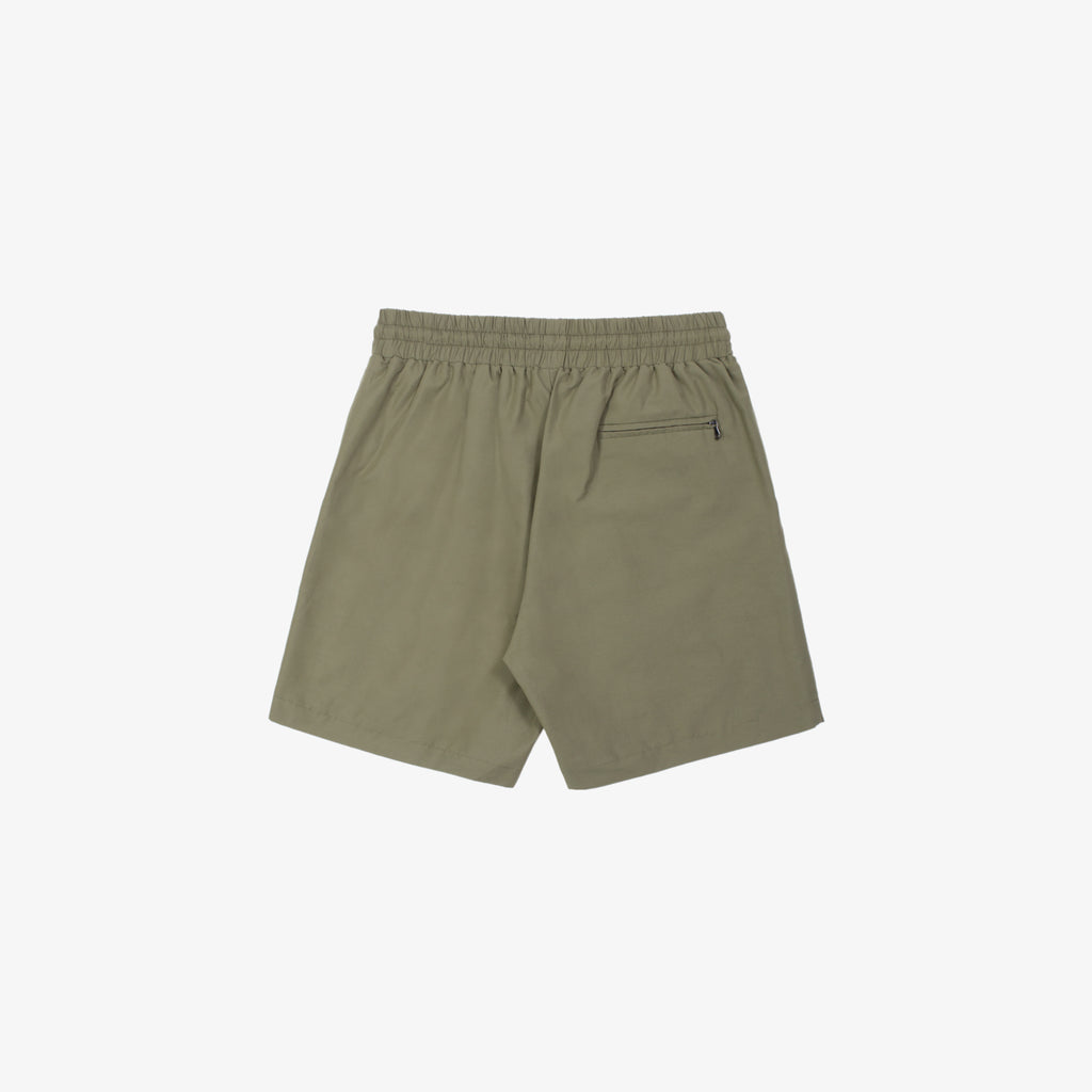 PEACH SKIN SHORT-OLIVE - Bottoms Aimé Leon Dore